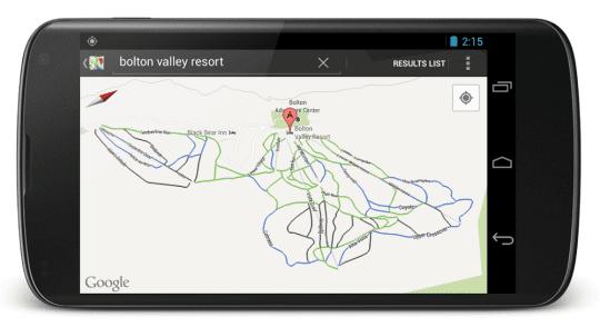 map-google-ski