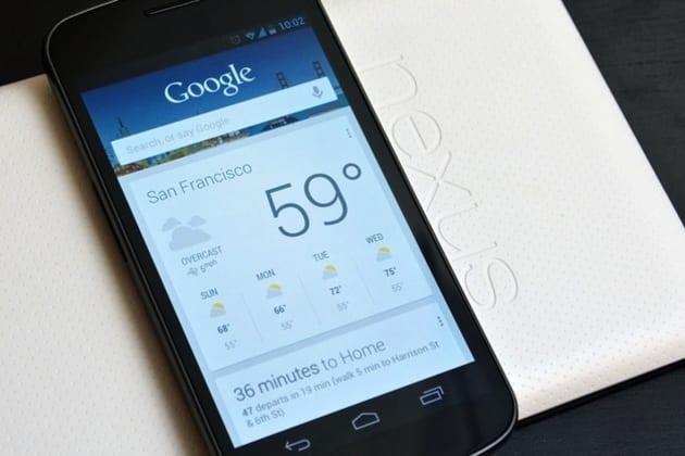 Google Now on Nexus - Numrush - Het mobiele verdienmodel van Google