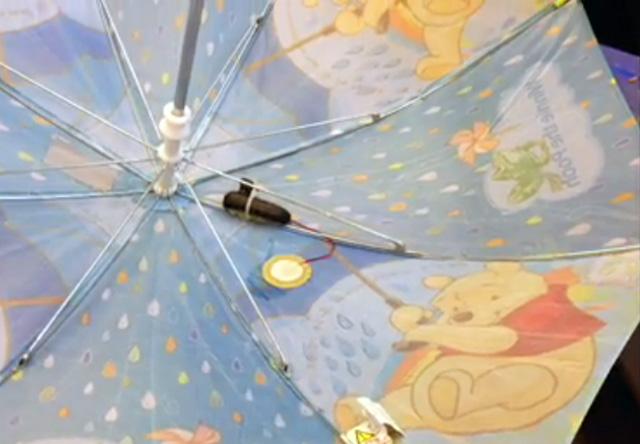 Slimme-paraplu