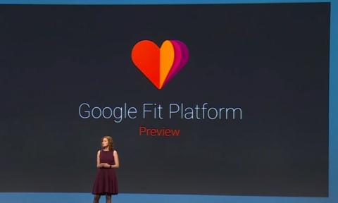 Google Fit Preview - Screengrab livestream