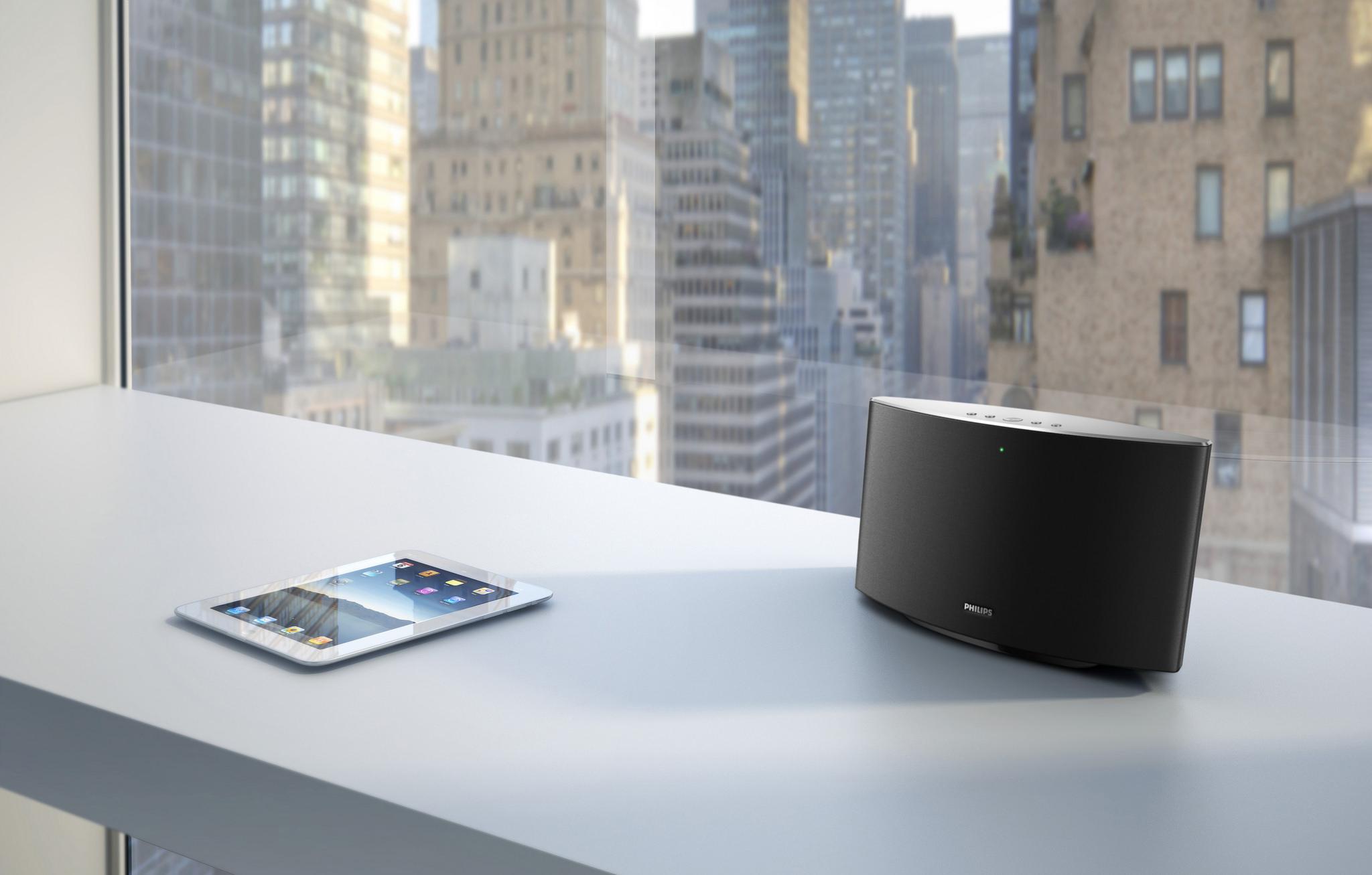 Philips Lanceert Sonos Concurrent In Samenwerking Met