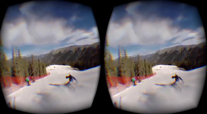 ski experiment VR