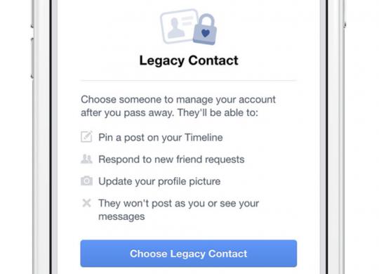 legacy contact Facebook