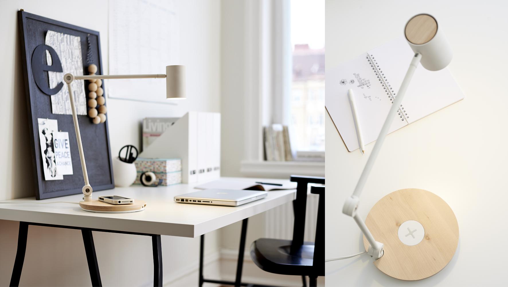 Ikea lanceert nieuwe meubels die je smartphone draadloos - Ikea accessoires bureau ...