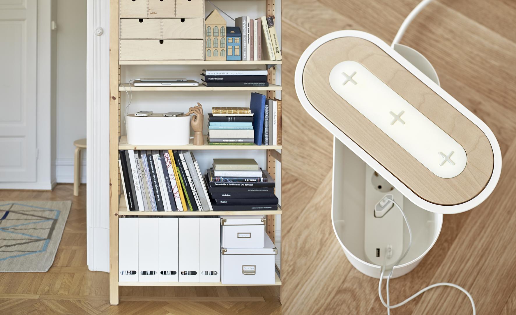 ikea lanceert nieuwe meubels die je smartphone draadloos kunnen opladen numrush. Black Bedroom Furniture Sets. Home Design Ideas