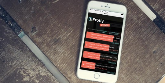 frolly iphone