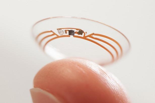 Slimme contactlens van Google Life Sciences