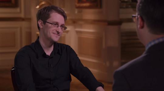Edward Snowden John Oliver Interview