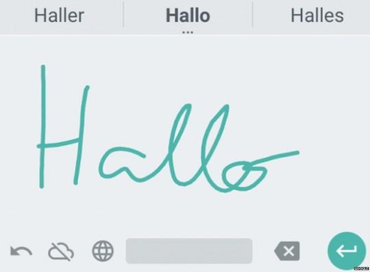 google-handwriting-app