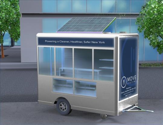 mrv100 hybrid food cart new york