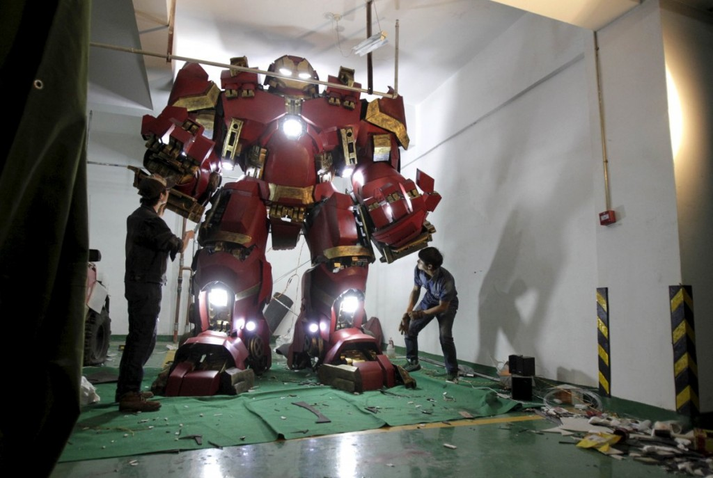 iron man hulkbuster 1