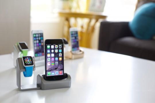 kickstarter-duet-apple-watch-iphone-dock-charger