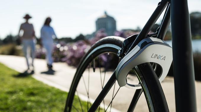Betonschaar fietsslot