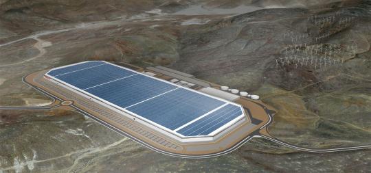 Gigafactory Tesla Musk