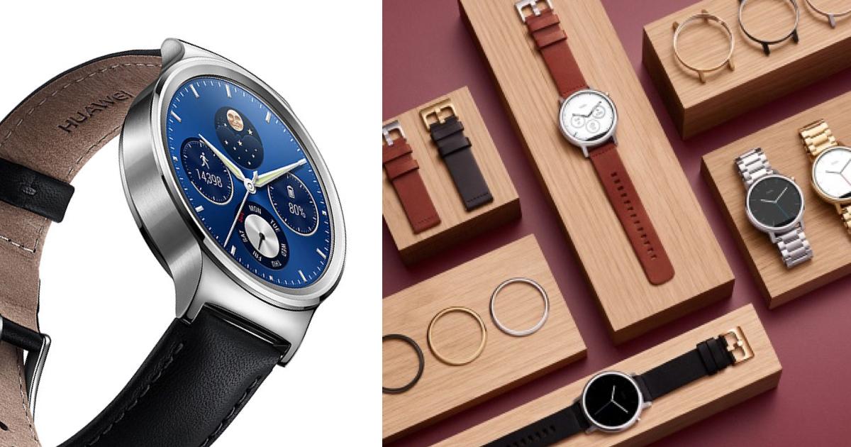 Moto 360 Huawei Watch