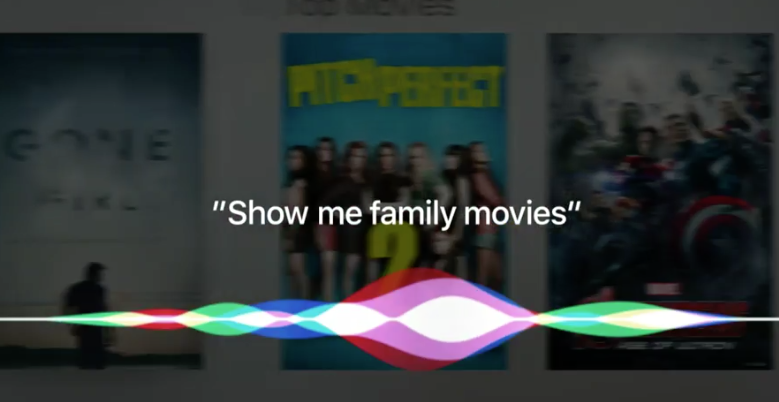 Siri op Apple TV