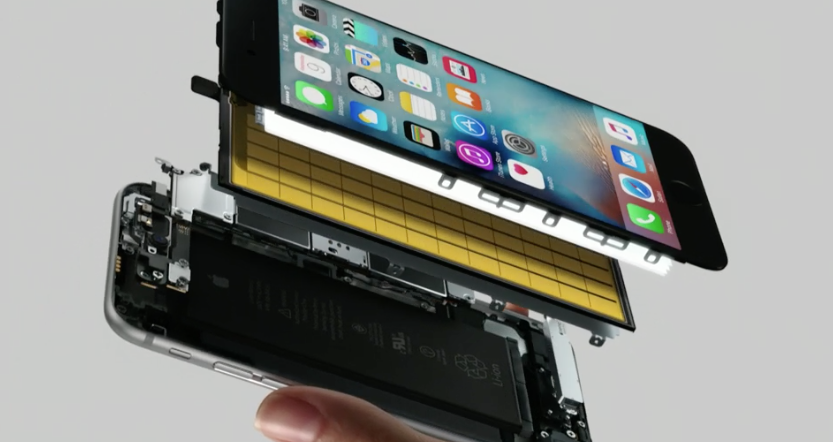 iPhone 6S met 3D Touch