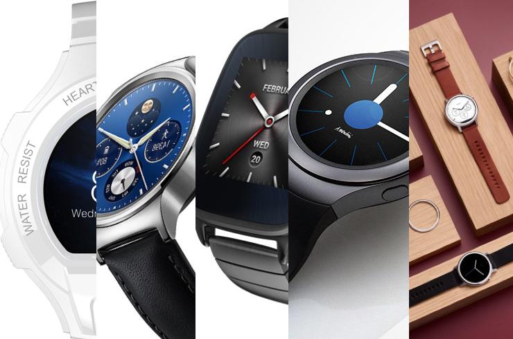 De vijf mooiste smartwatches