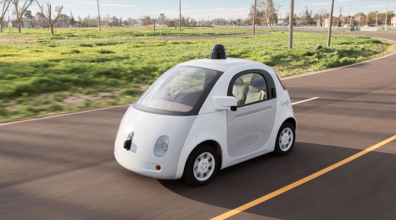 Google Firefly zelfrijdende auto