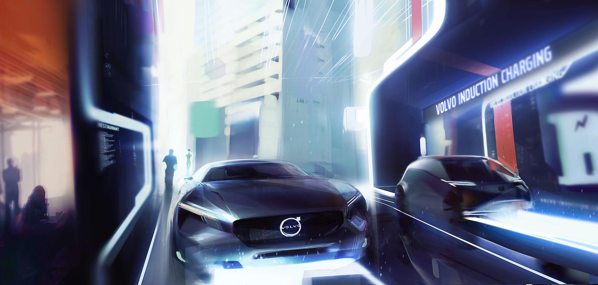 Volvo elektrische auto's