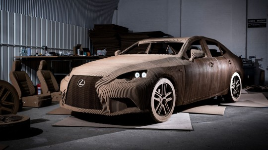 lexus-is-cardboard