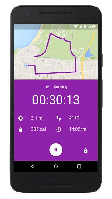 Google Fit Active