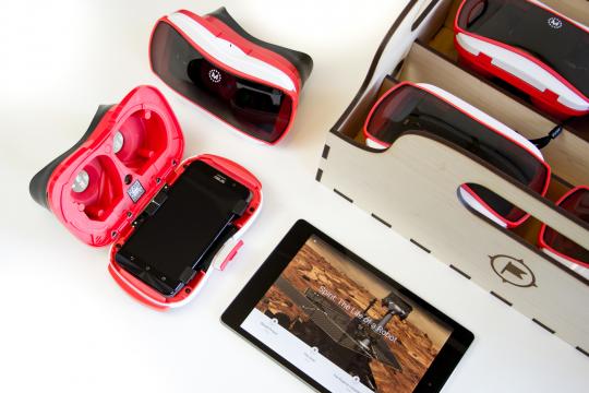 Google VR scholen