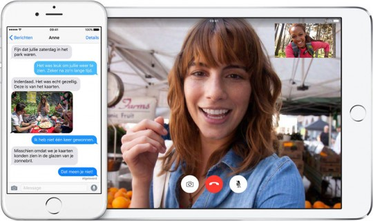 iMessage en FaceTime