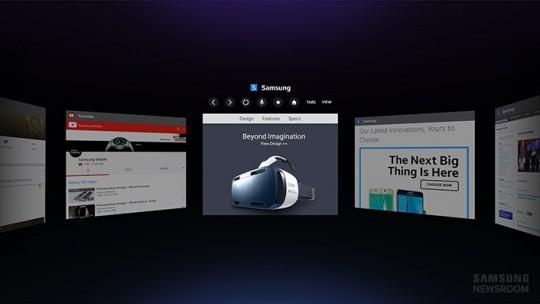 Gear VR browser start