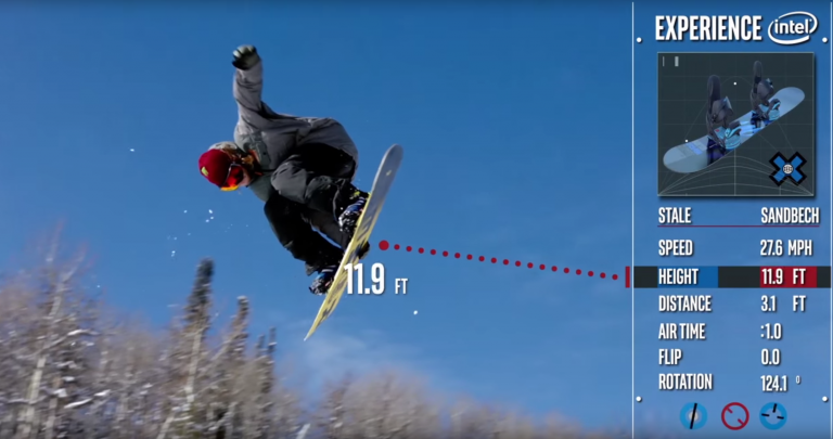 intel connected snowboard CES2016