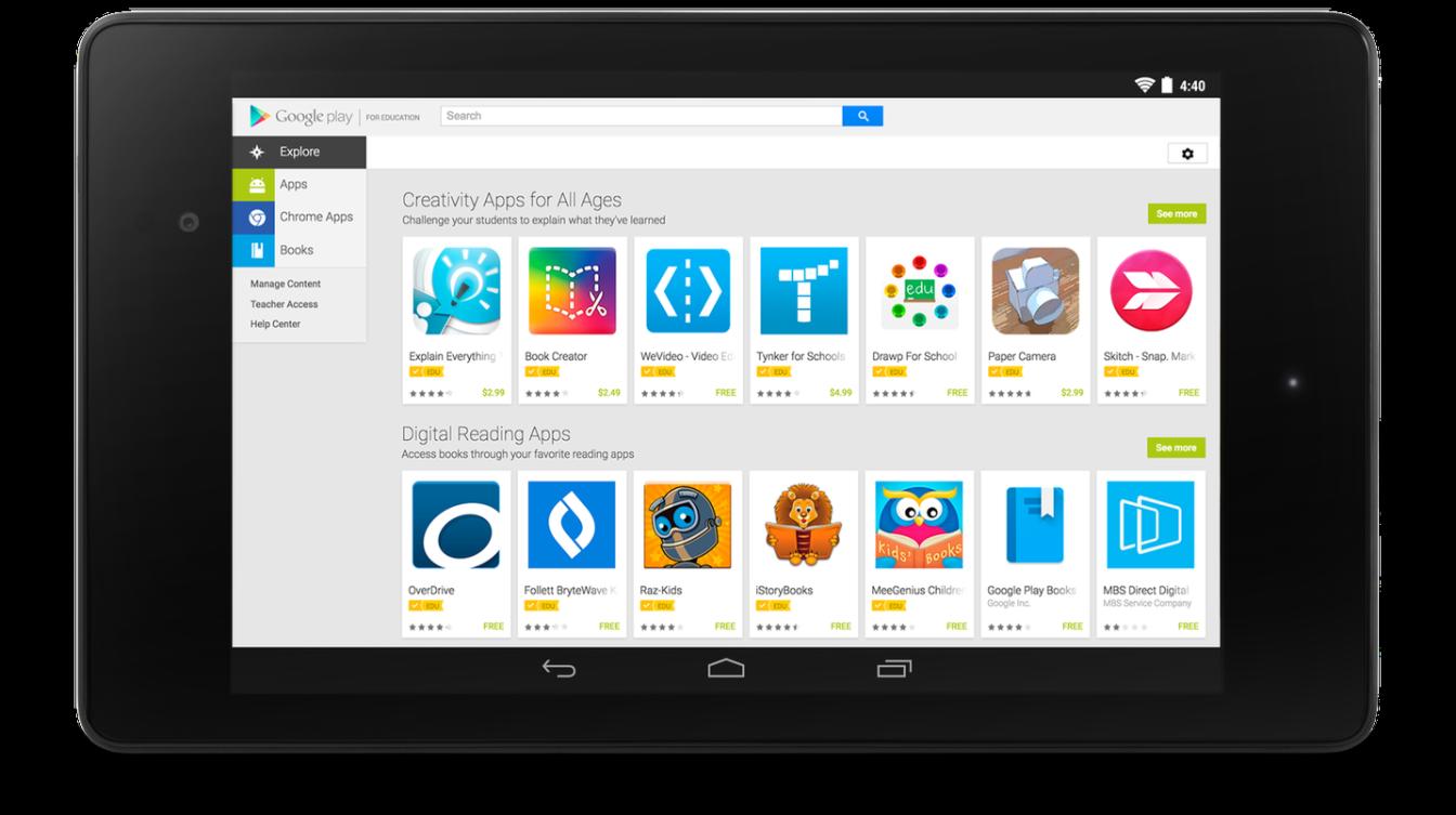 Google Play Education