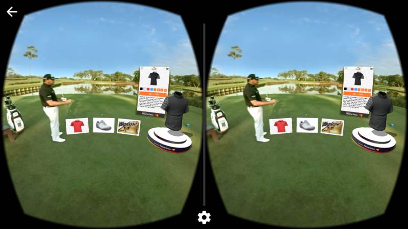 MasterCard VR Golf