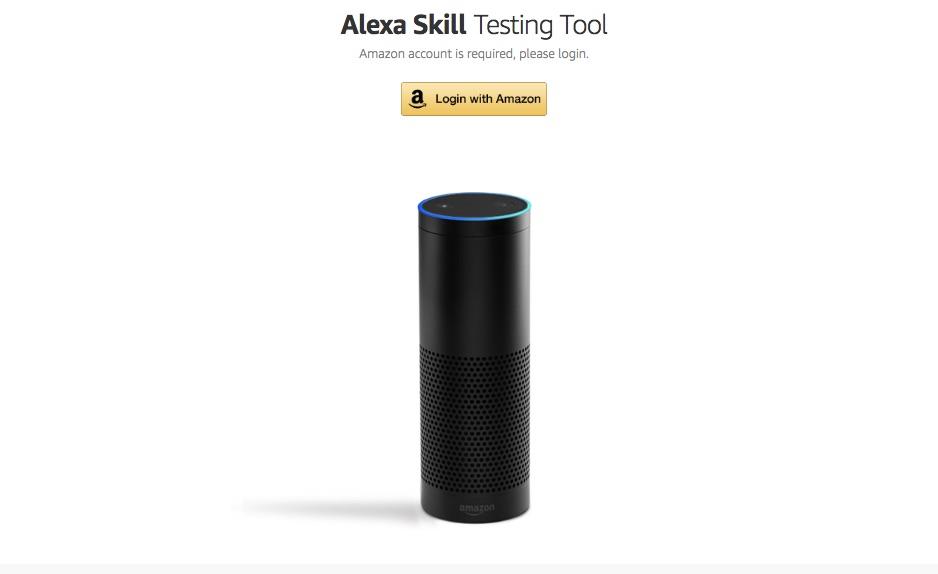 Alexa Skill Testing Tool
