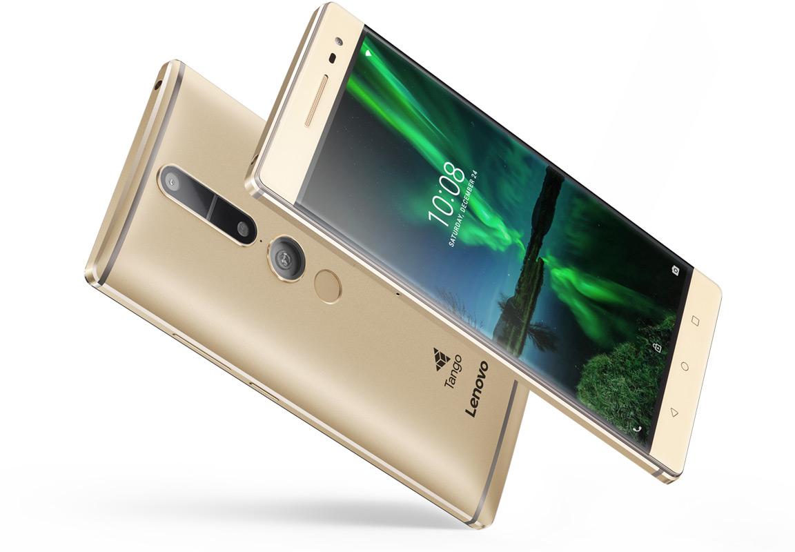 Lenovo Phab 2 Pro met Tango