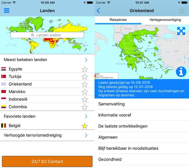 Buitenlandse Zaken apps