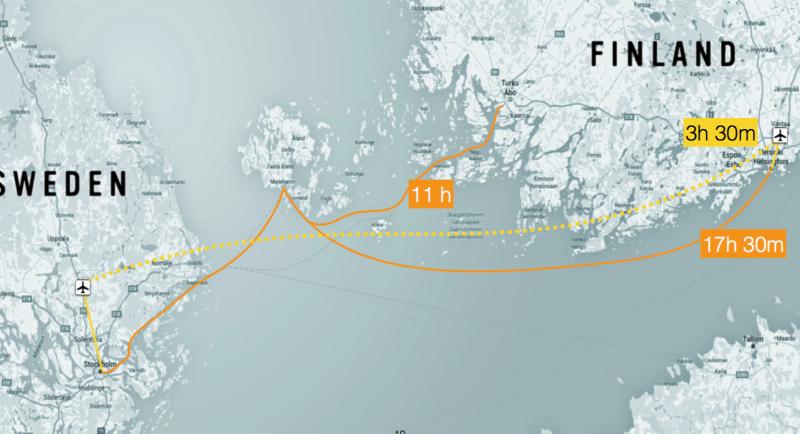 Hyperloop Finland Zweden