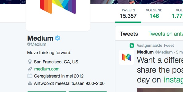 Twitter Medium