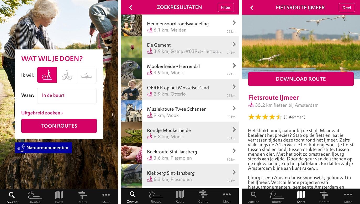 natuurroutes_app