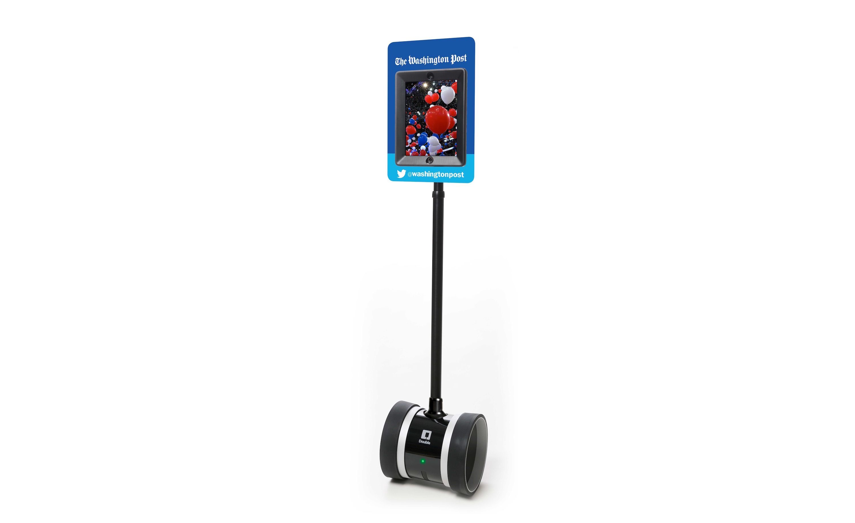 Telepresence robot van The Washington Post