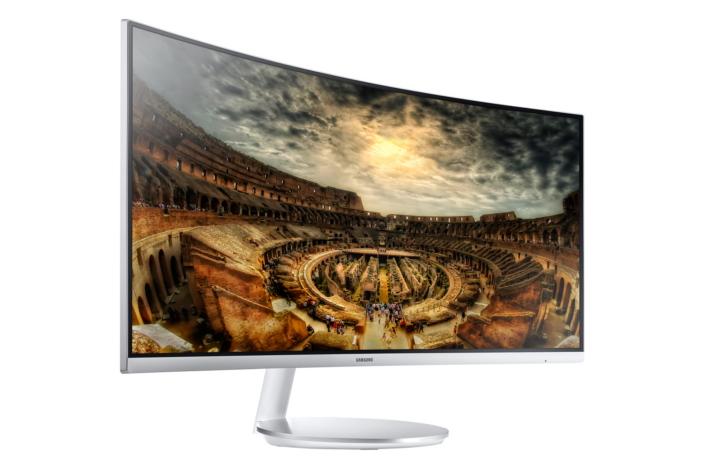 De curved gaming monitor van Samsung is eind 2016 verkrijgbaar.
