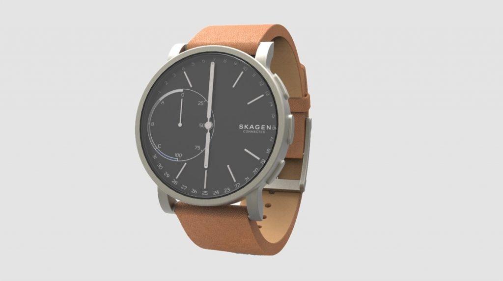 De Skagen Hagen Connected is een smartwatch die stijl met techniek combineert.