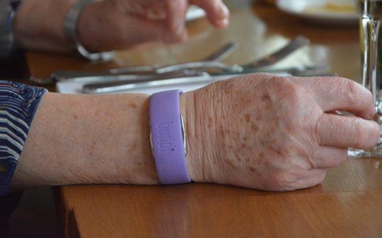 Buddi wristband wearable
