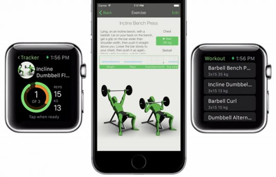Gymaholic Apple smartwatch, fitness tracker