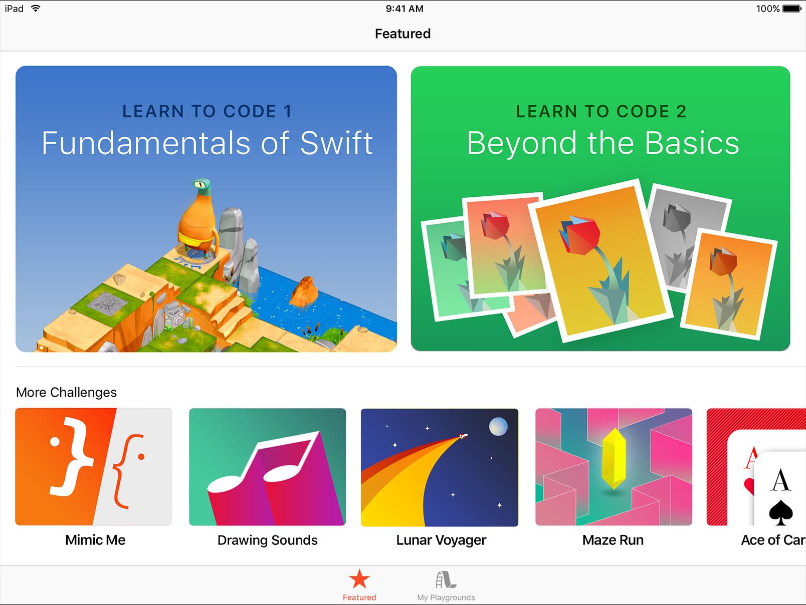 Swift Playgrounds downloaden