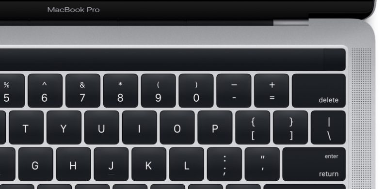 Touchbar Macbook Pro