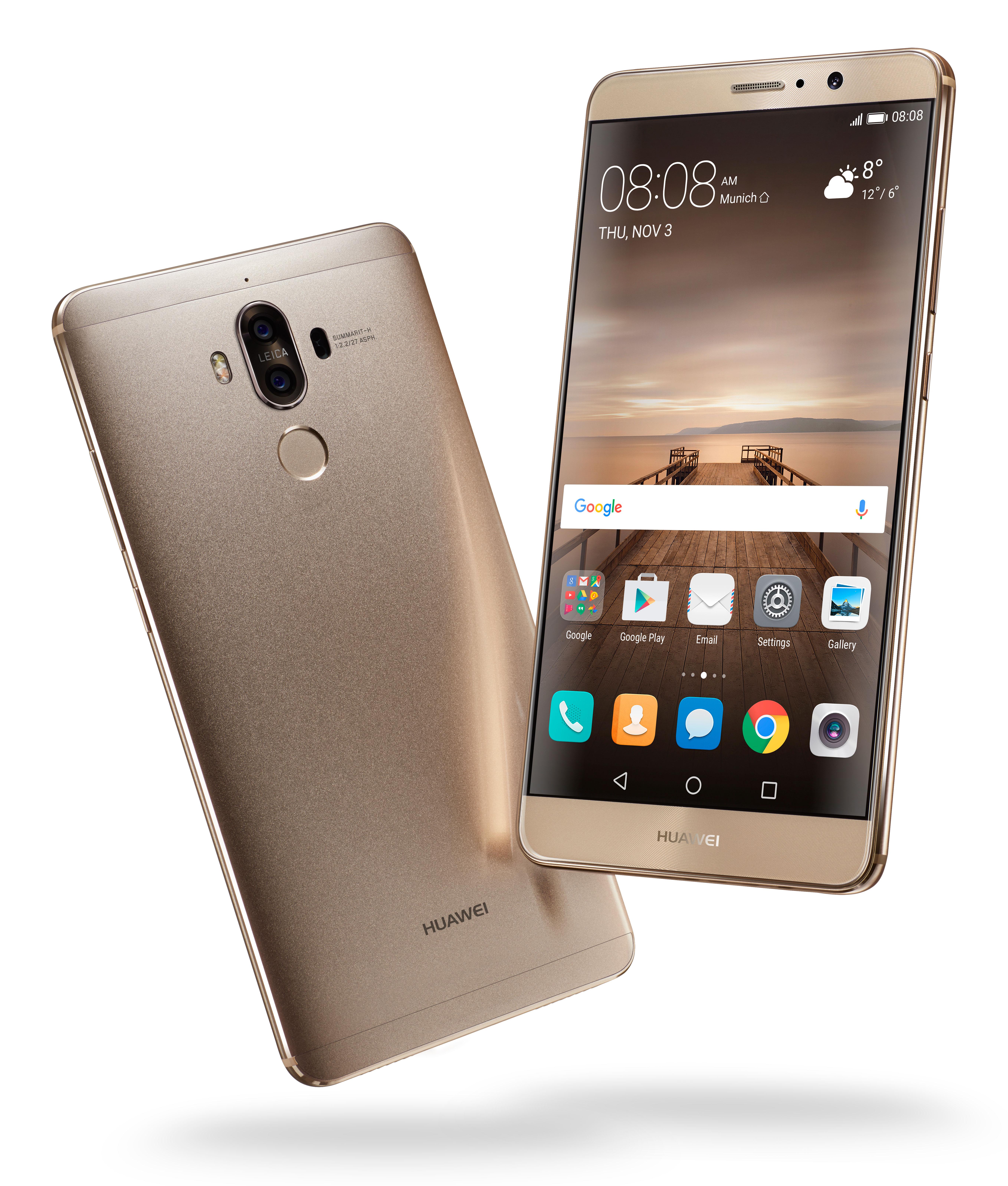 Huawei-Mate-9-Champagne-Gold