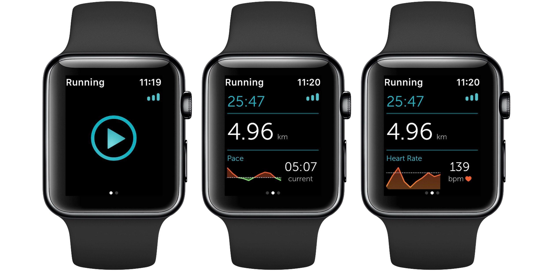 Runkeeper Apple Watch series 2
