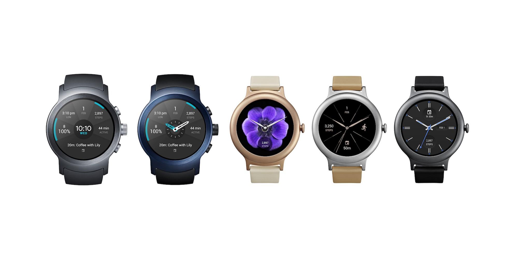 LG Watch Style en LG Watch Sport