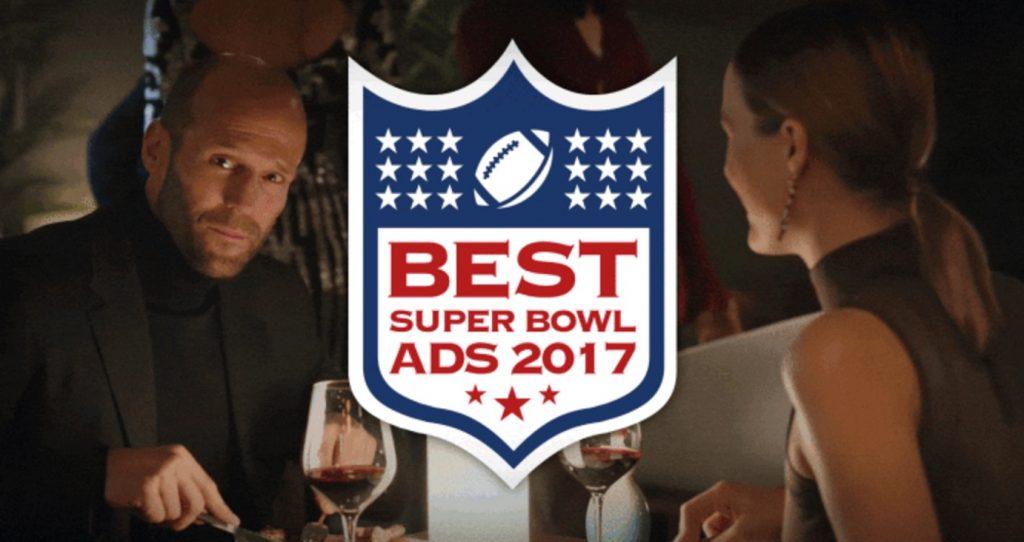 Super Bowl Commercials 2017