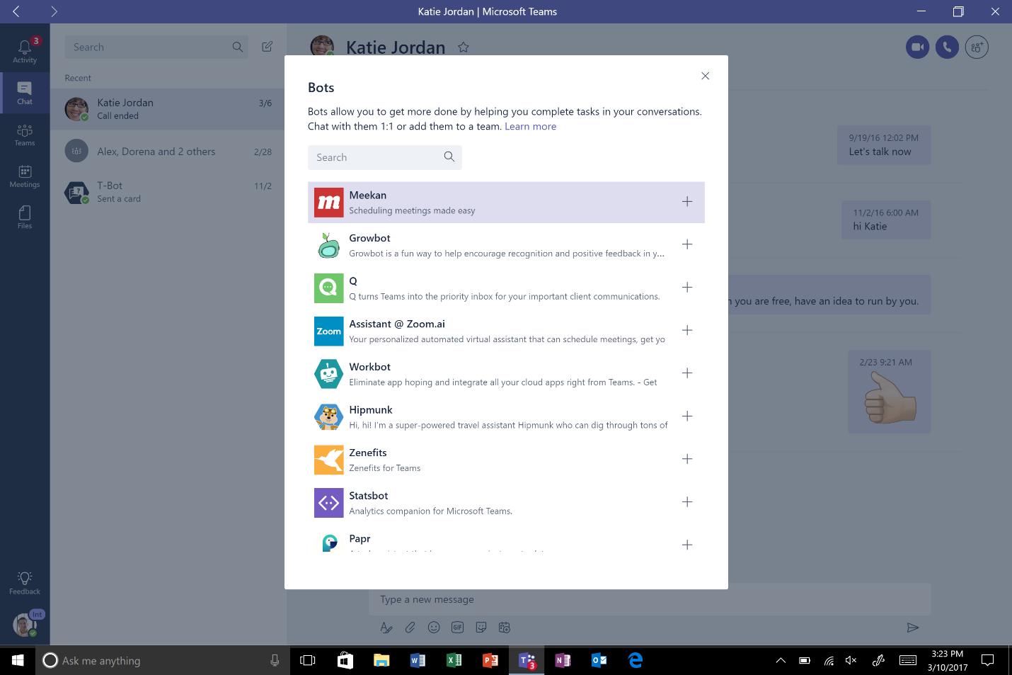 Microsoft Teams bot